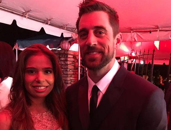 Aaron Rodgers Lady Friendly At The Kentucky Derby