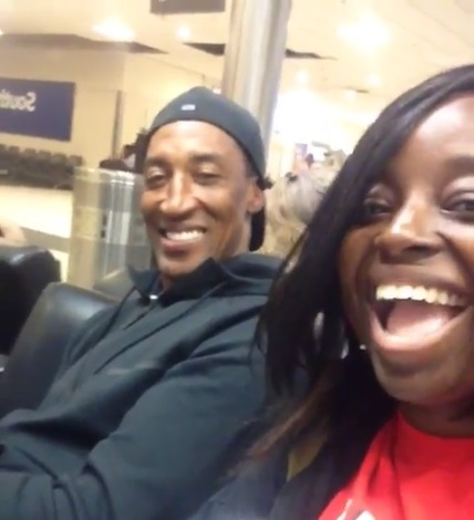 Scottie Pippen is the Man at Atlanta Airport