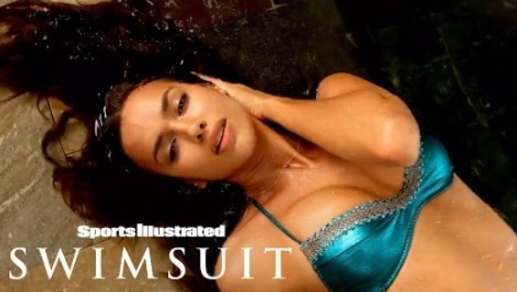 Irina Shayk Gets Sensual, Makes A Splash In Maui