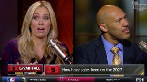 LaVar Ball Goes Toe to Toe with Kristine Leahy