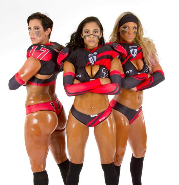 Meet the LFL's Might Mouse, Kendria Robinson
