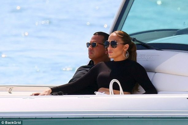 A-Rod and J-Lo Take Their Act on a Yacht