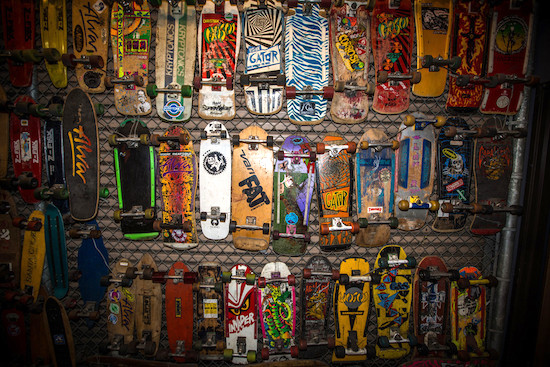 Half A Million Dollar Skateboard Collection