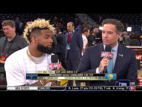 Odell Beckham Jr. Not Giving up on LeBron