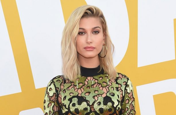 Of Course Hailey Baldwin Exposed Her Underwear at the NBA Awards