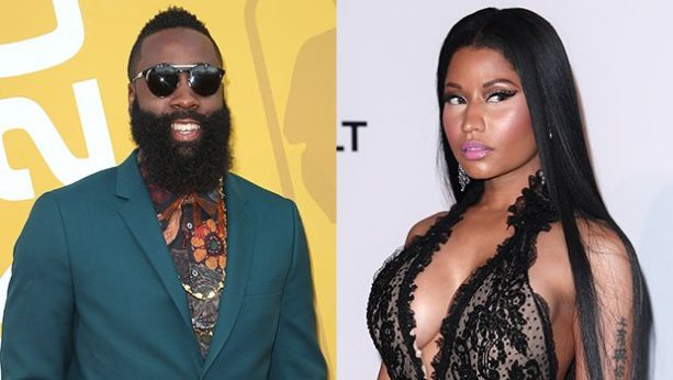 James Harden Awkwardly Fell In Love With Nicki Minaj At NBA Awards