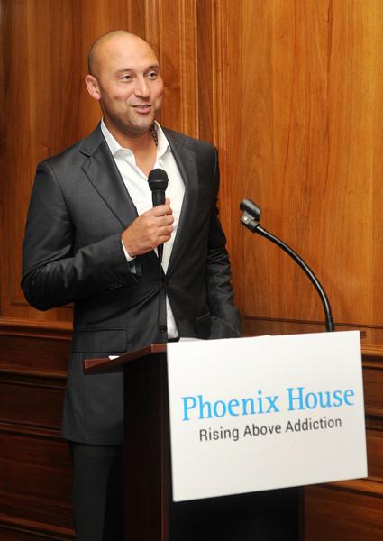 Derek Jeter Opens Rehab For Teens Center