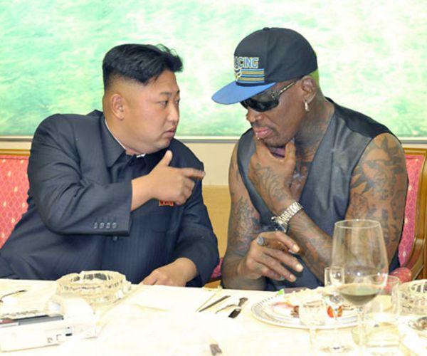 Dennis Rodman Gifts Kim Jong Un With 'Art of the Deal'