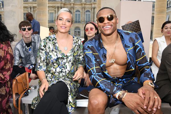 Russell Westbrook Feeling Relaxed at Paris Fashion Week