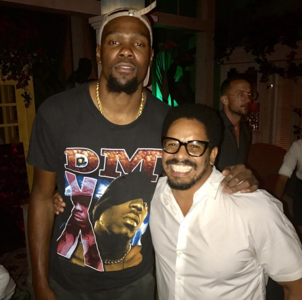 Kevin Durant Turns Up In NYC With Rohan Marley
