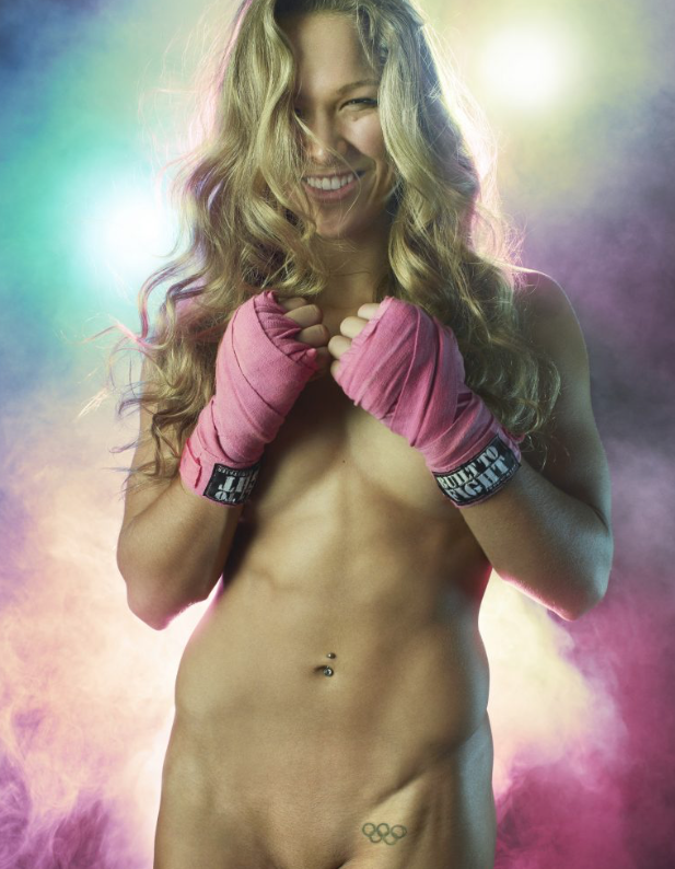 Naked Pictures Of Ronda Rousey If Anyone Would Really Want To See Them?
