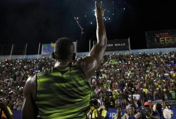 Usain Bolt Won His Last Race And Hit Up The Club Afterwards