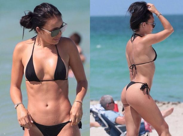 Johnny Manziel's Fiance on Fire in South Beach