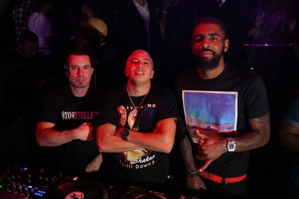 Kyrie Irving Takes Over the DJ Booth in Miami