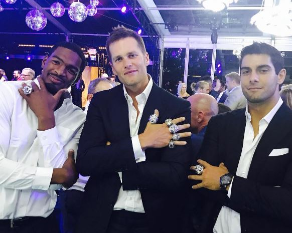 The New England Patriots Know How To Party