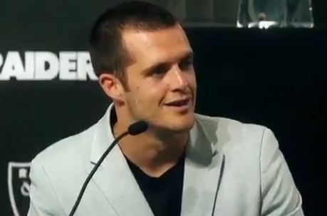 Derek Carr Takes A Shot At The Seattle Seahawks While Discussing His New Contract