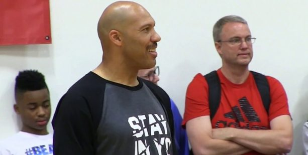 LaVar Ball Coaches Big Ballers & LaMelo Ball Gets Pushed to the Floor in 2 Overtimes Loss