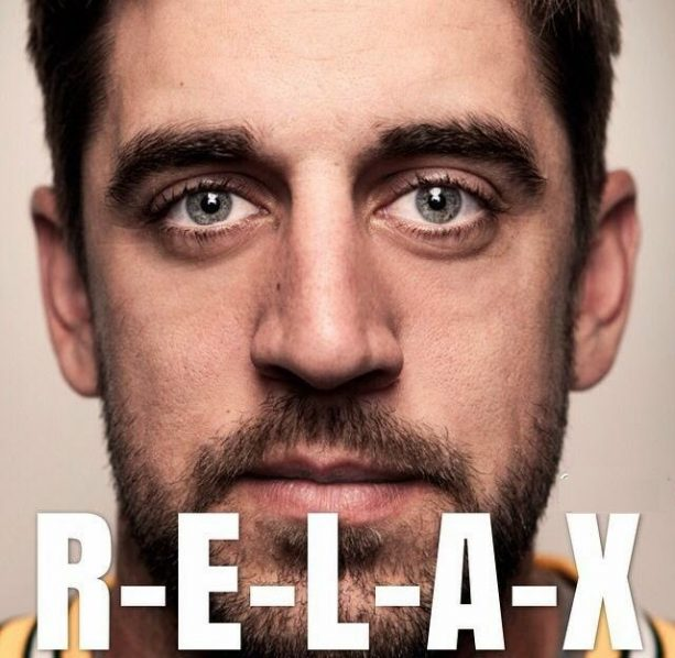 Aaron Rodgers Has a New Male Friend