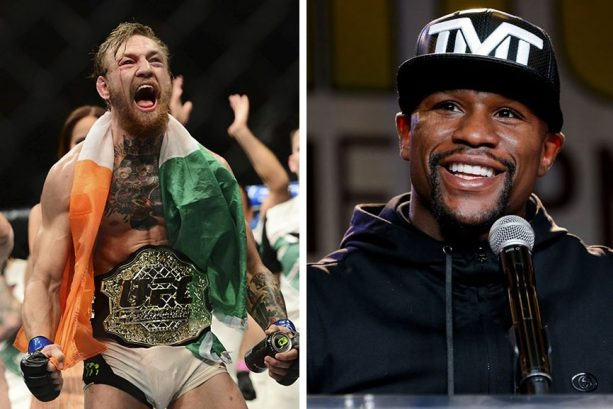 Floyd Mayweather Jr. Asked What Round He's Going To Knock Out Conor McGregor In