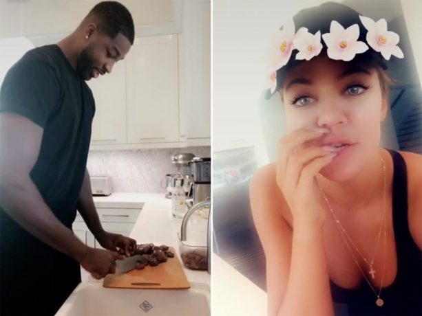Tristan Thompson Makes Khloe Kardashian Cook him a Kidney