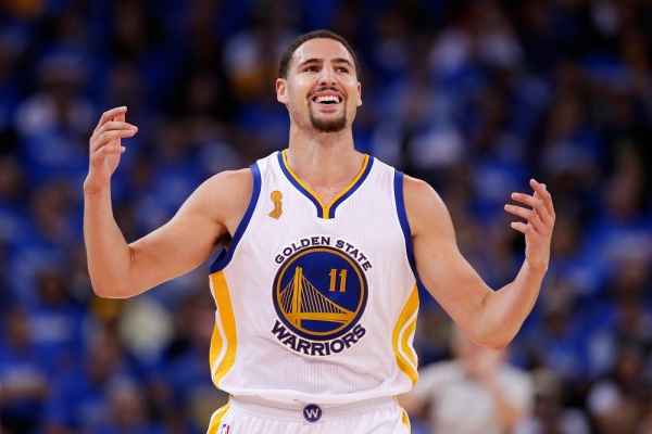 There's Something Satisfying About Watching Klay Thompson Miss A Dunk Attempt