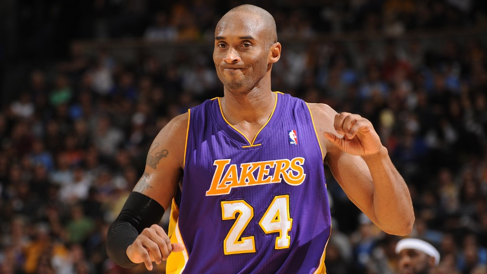 what number is kobe bryant