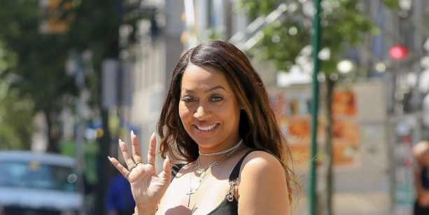 Lala Anthony Bringing out the Big Guns