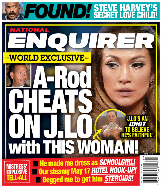 Alex Rodriguez Is Cheating On Jennifer Lopez?