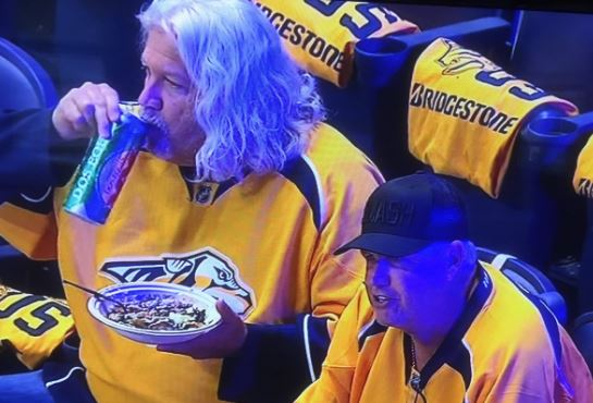 Rex And Rob Ryan Spotted Smashing A Penguins Car Before Smashing The Concession Stand