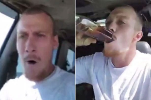 Florida Man Goes On Facebook Live Drunk Driving Trying To Hit People On A Beach