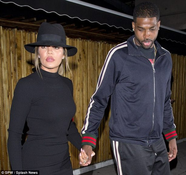 Khloe Takes Mind off Brother Rob's Revenge Porn Drama with Tristan Thompson Date Night