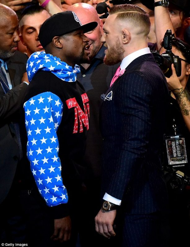 Take a Closer Look at the Secret Message Behind Conor McGregor's Pinstripe Suit