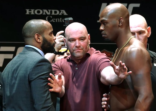 UFC 214: Daniel Cormier vs. Jon Jones Staredown