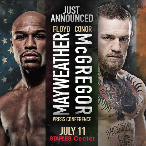 Mayweather McGregor World Press Tour Kicks Off July 11th