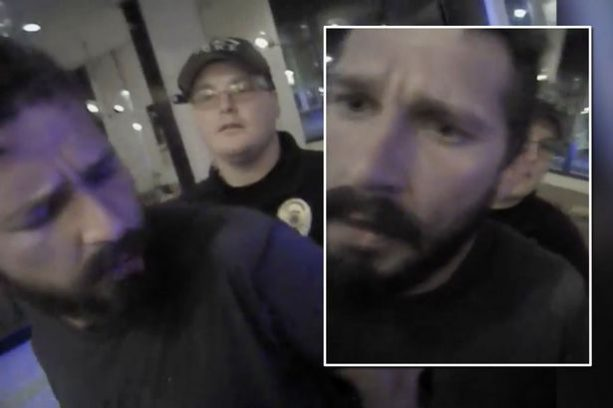 Shia LeBeouf's Epic Rant Caught By Police Body Cam