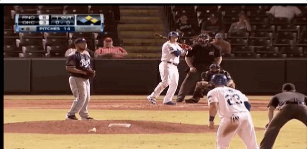 Dodgers Prospect Pulls A Jose Canseco Off The Dome Home Run