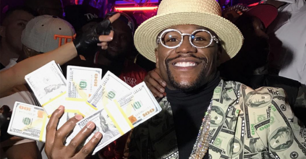 Floyd Mayweather Talks About His Taxes On The Gram