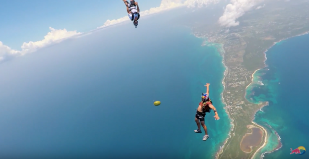 Craziest holiday: Skydiving with a Coconut in Guadeloupe