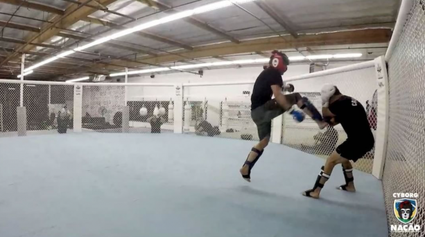 MMA Legend Cris Cyborg's Last Day Of Sparring Before UFC214