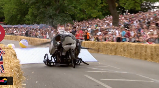 TOP 5 Crashes from Red Bull Soapbox Race UK 2017