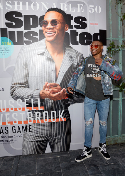 Russell Westbrook Hosts SI's 2017 Fashionable 50 Celebration