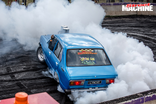 ON BOARD WITH THE TIP-IN KING AT SUMMERNATS!