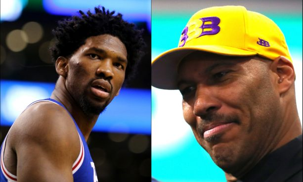 Sixers Fans Started a GoFundMe page to pay Joel Embiid's 'F–k Lavar Ball' Fine