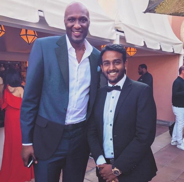 Lamar Odom Looking Healthy at ESPY's Party