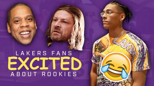 The Kings Troll Lakers fans Over Fake Lakers Rookies