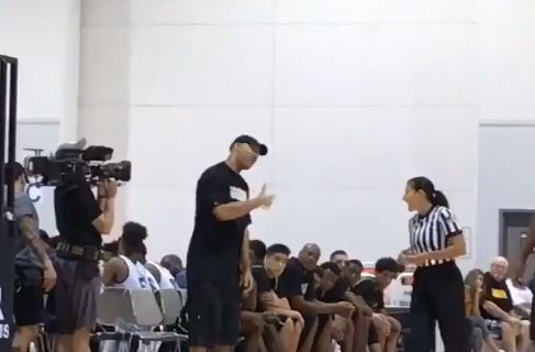 LaVar Ball Has A Female Referee Replaced After She Gave Him A Technical Foul