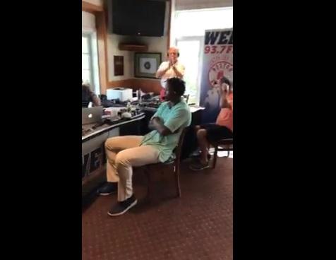 Brandon Marshall Walks off Boston Radio show