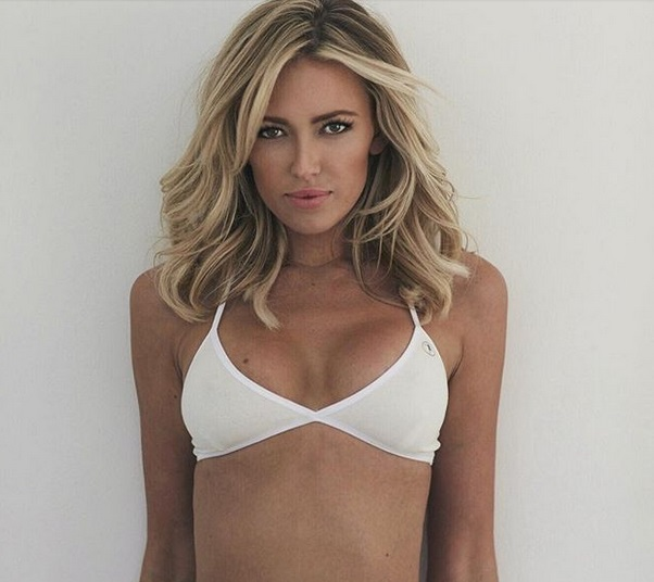 Paulina Gretzky is The Red White and Bluest