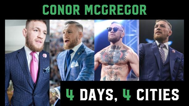 Conor McGregor Travels in Style