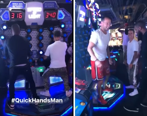 Kyrie Irving Playing Games with his Pastor and Bieber